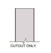 Diagram for cutout only lite kit